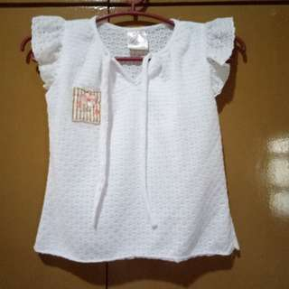 Lilly White Top (4T)