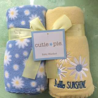 Baby fleece blanket (set of 2)