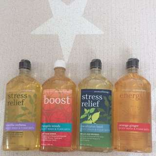Bath & Body Works Aromatherapy Body Wash