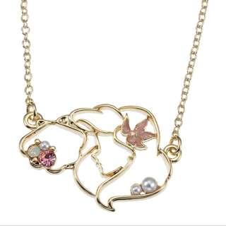 🇯🇵日本代購 迪士尼 Disney 美人魚 小魚仙 Aerial 頸鍊 necklace