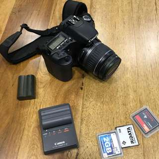 Canon 30D with kit lens