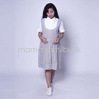 Baju Hamil Dress Hamil Office Sheila Dress - DRO 885
