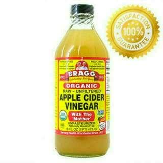 Bragg Apel Cider Vinegar 473 Ml
