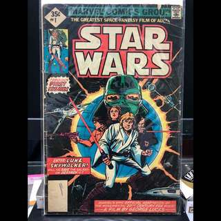 Marvel Comics Group Star Wars #1 (1977) Whitman Diamond