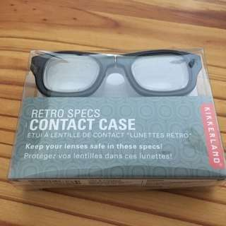Kikkerland retro specs contacts case
