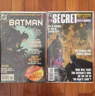 DC Secret Files & Origins