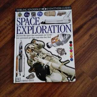 Space Exploration DK (hard cover)