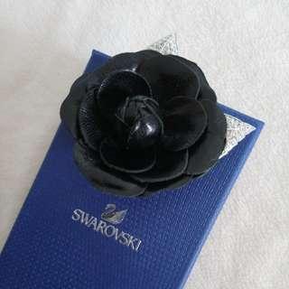 Swarovski 花朵水晶鑽 胸針