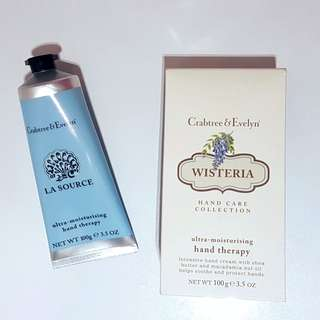 Crabtree & Evelyn La Source, Wisteria hand therapy