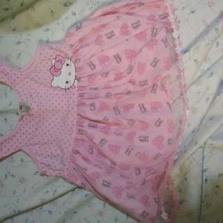 Baby dress hellow kitty