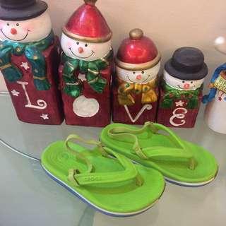 Authentic Crocs slippers