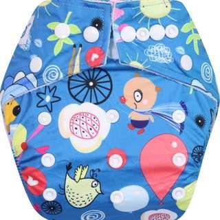 Clodi Popok Kain Bayi Babyland Snap Microfiber Cloth Diaper - Festival