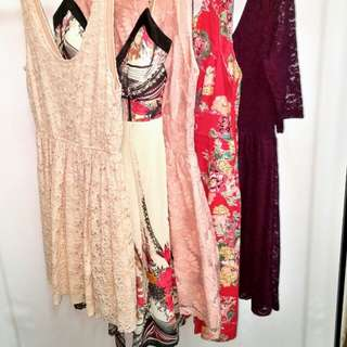 Floral Dresses in Large