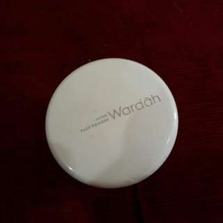wardah face acne powder