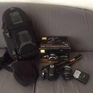 Nikon D3300 18-55 VR II Kit