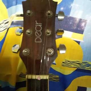 Acoustic guitar dear san 480e