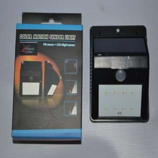 GT-SL19P Solar Motion Sensor Light
