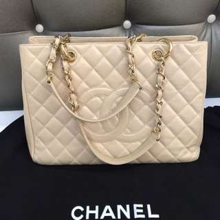 Chanel GST Gold hardware