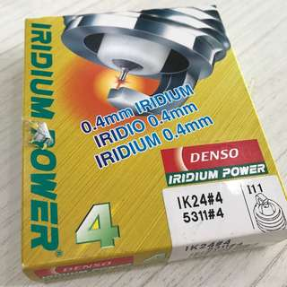 Genuine Denso Iridium Spark Plugs IK24