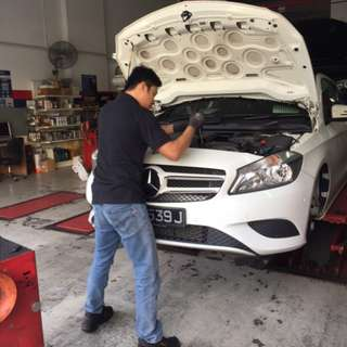 Top Notch Car Servicing Package (Pioneer, Jurong) -  With Free Gift for CNY