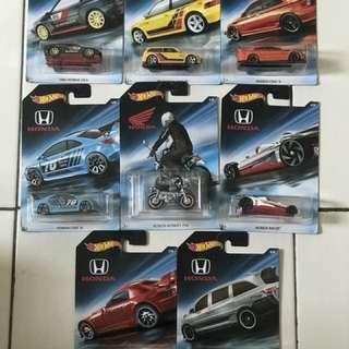 Hotwheels 70th Annivery Honda
