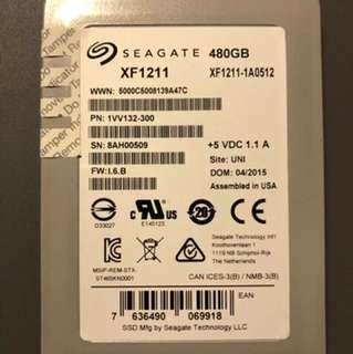 Seagate enterprise 480G solid state drive Seagate a0512 XF1211-1A0512