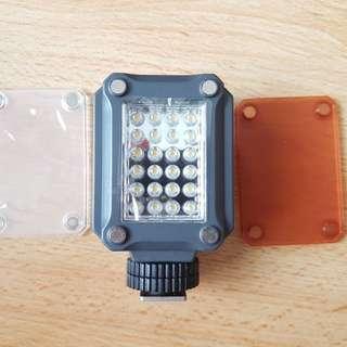 F&v k160 led light video dslr camera