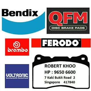 Brembo Brake Pads & Sport Rotors .
