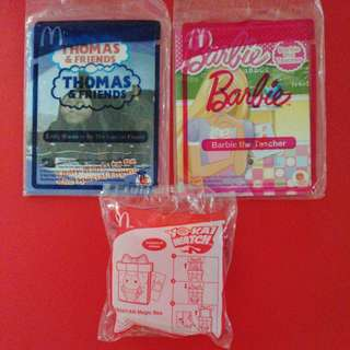 Thomas & Friends / Barbie/ YO-KAI Watch