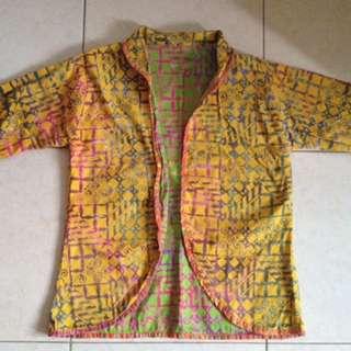 Outer (blazer) batik