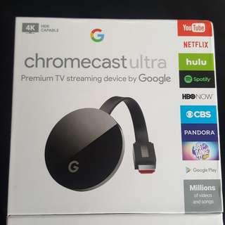 全新美國直送 Google Chromecast Ultra 大量貨