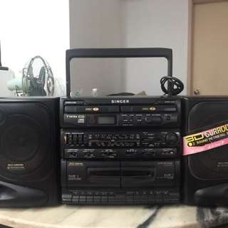 Vintage Singer - Radio & Cassette Function OFFER