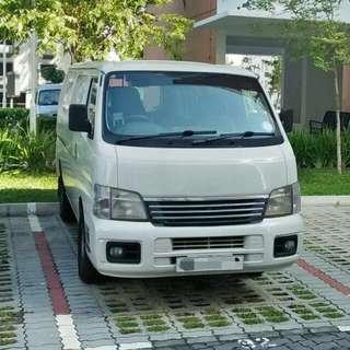 Nissan Urvan Rental