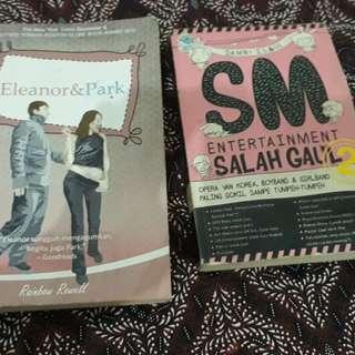 Novel Eleanor & Park + SMSG