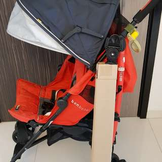 Bon Bebe bolt umbrella stroller (very compact & carry weight upto 25-30kgs) free unused safety bar