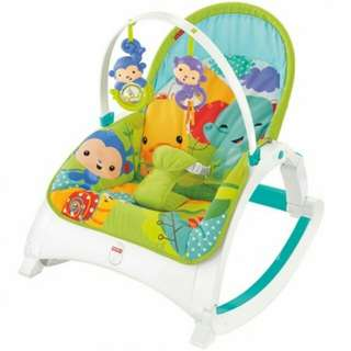 Fisher-Price Newborn to Toddler Rocker, Rainforest