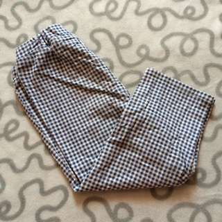 Uniqlo Checkered Pants - S