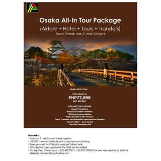 Osaka All-In Tour