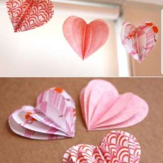 Looking for Paper Heart shape ❤💚💙