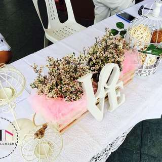 Budget Reception table wedding decoration Dessert Table