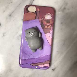 Iphone 7 kitty squishy case
