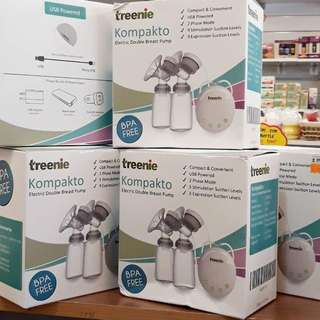 Treenie kompakto electric double breastpump WITH FREEGIFT
