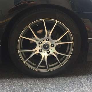 Honda Civic sport rim 17 inch