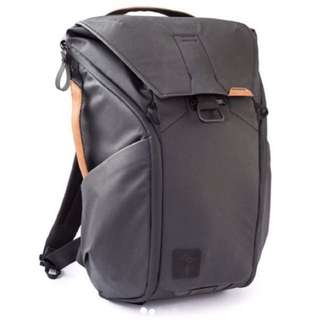 PeakDesign Everyday Backpack 20L Black+Tan