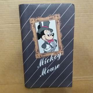Mickey Mouse weekly planner memo schedule book 日記記事簿