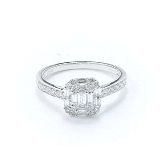 18k Real Gold Real Diamond Ring