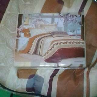 Bed cover 1 set komplit