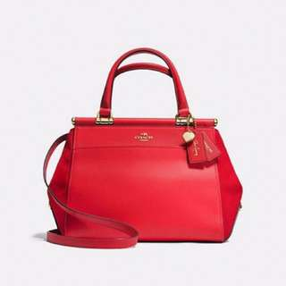 READYSTOCK🚨 Coach Selena Grace Bag - Red colour