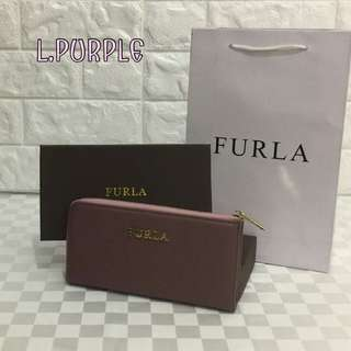 Furla Zippy Wallet Light Purple