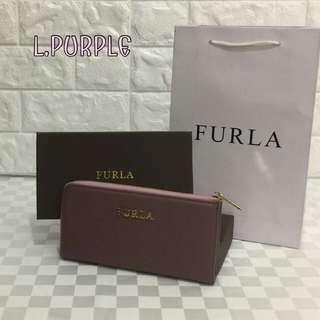 Furla Zippy Wallet Light Purple